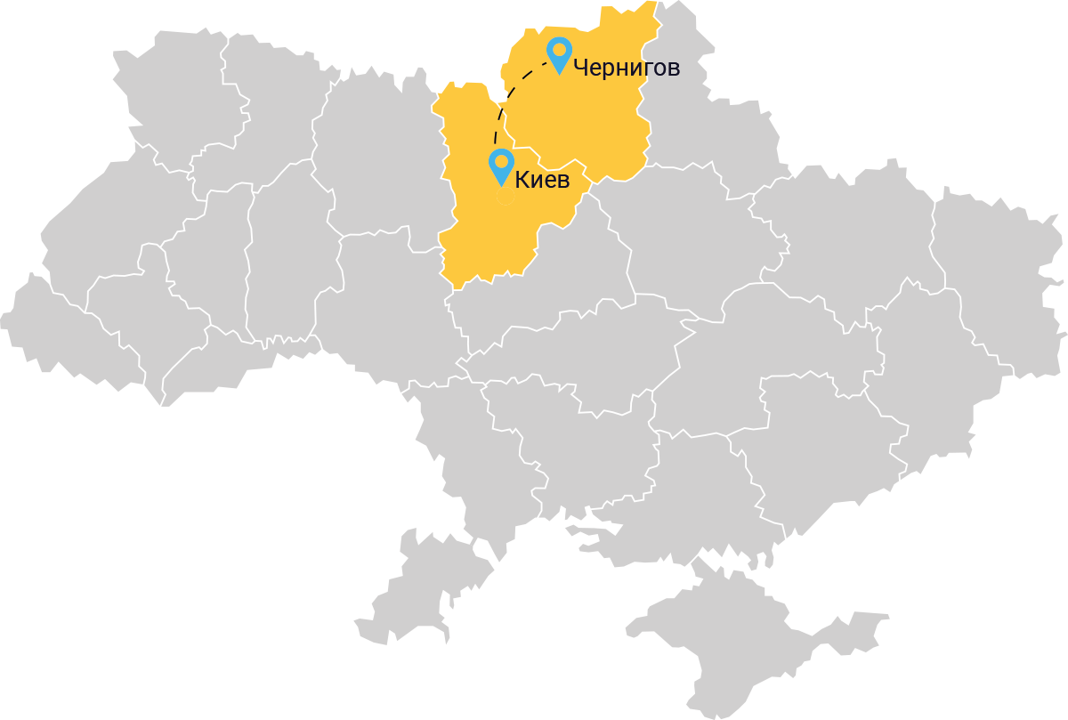такси Киев Чернигов