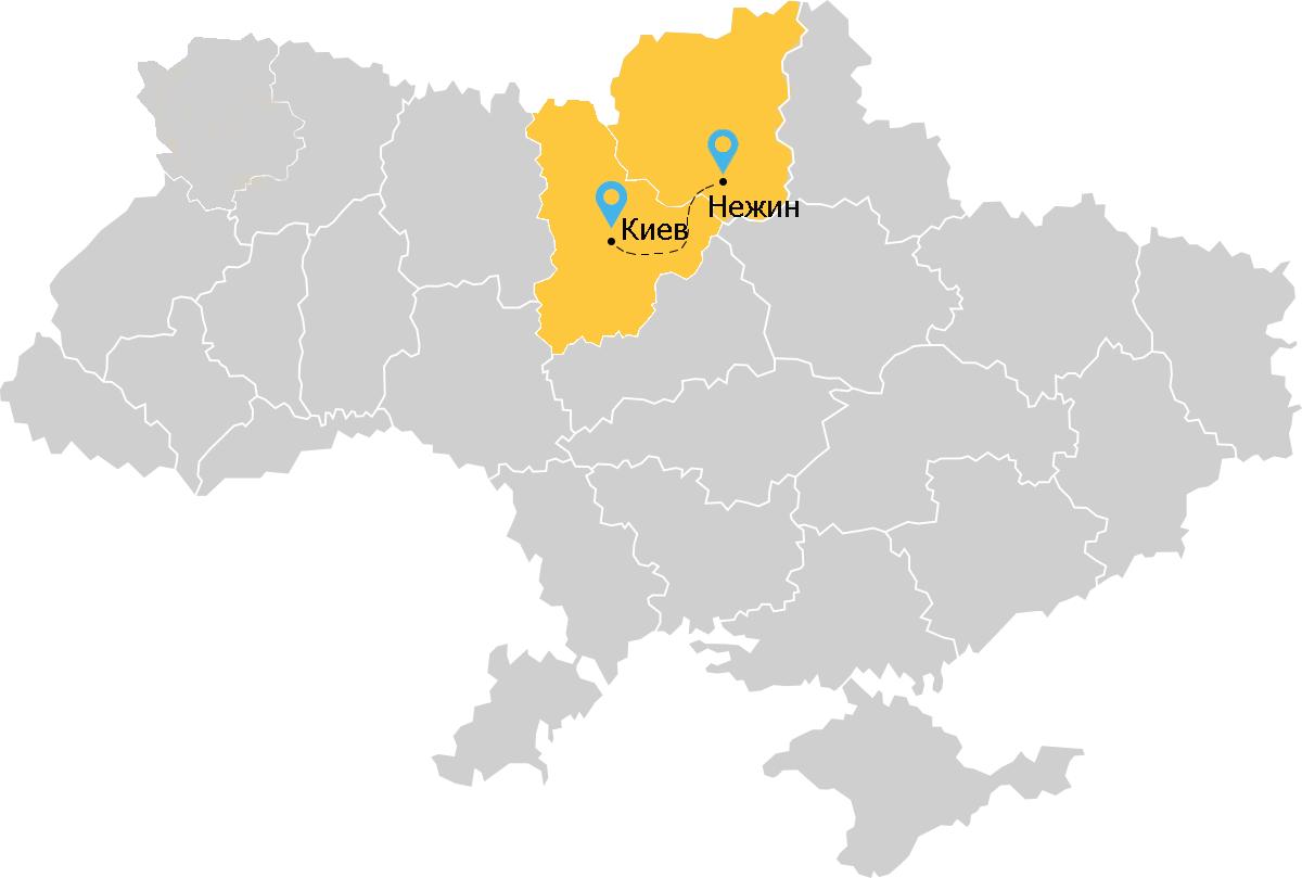 такси Киев Нежин